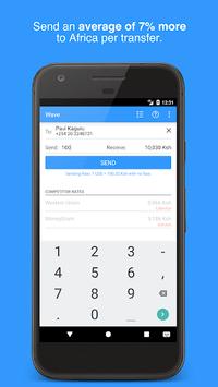Wave—Send Money to Africa APK screenshot 1