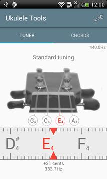 Ukulele Tuner APK screenshot 1