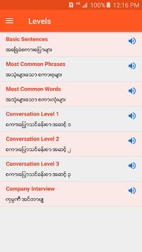 English Speaking for Myanmar APK screenshot 1