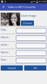 Video to MP3 Converter - MP3 Tagger APK screenshot 1