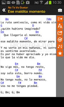Tabs & Chords in Spanish APK screenshot 1