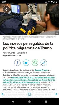 Noticias Telemundo APK screenshot 1