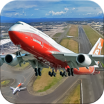 ✈️ Fly Real simulator jet Airplane games icon
