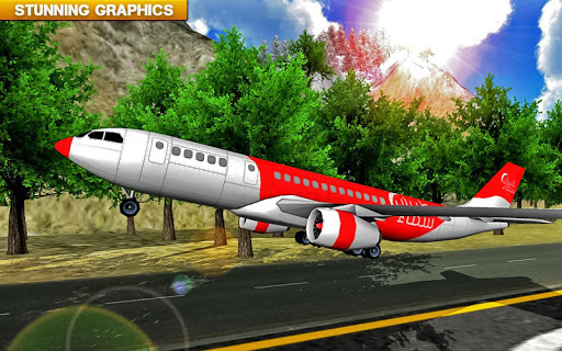 ✈️ Fly Real simulator jet Airplane games APK screenshot 1