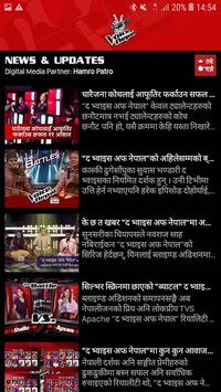 The Voice of Nepal APK screenshot 1