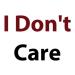 I Don't Care Quotes icon