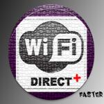 WiFi Direct + icon