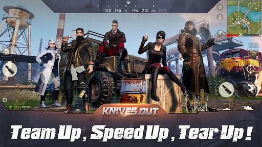 Knives Out-Tokyo Royale APK screenshot 1