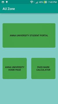 AU Students Zone. APK screenshot 1