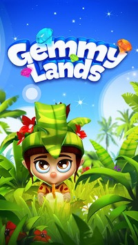 Gemmy Lands - Match-3 Games APK screenshot 1
