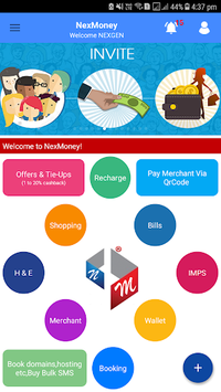 NexMoneyApp Wallet: Innovative Ways Of Earning... APK screenshot 1