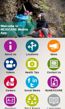 NEXtCARE APK screenshot 1