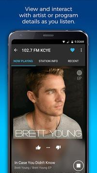 NextRadio Free Live FM Radio APK screenshot 1