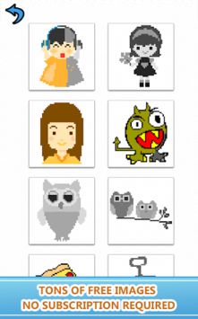 Sandbox Number Coloring Book Art - Color By Number APK screenshot 1