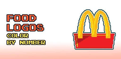 Food Logo Color by Number: Pixel Art Coloring Book pc screenshot