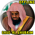 Shuraim Full Quran MP3 Offline icon