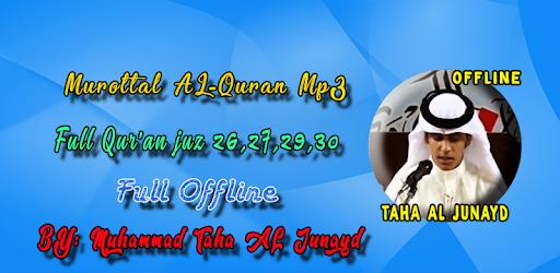 Taha Al Junayd Full Quran MP3 Offline pc screenshot