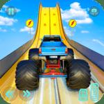 Monster Truck Mega Ramp Stunts Extreme Stunt Games icon