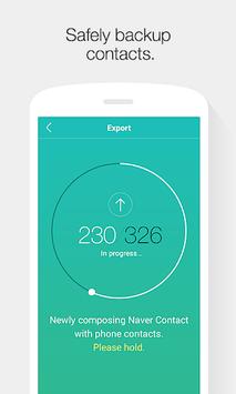 Naver Contacts & Dial APK screenshot 1