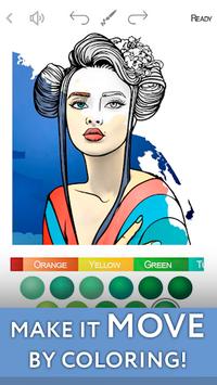 Colorist - Coloring Book for Adults APK screenshot 1