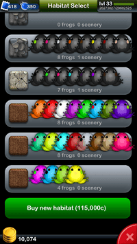 Pocket Frogs APK screenshot 1