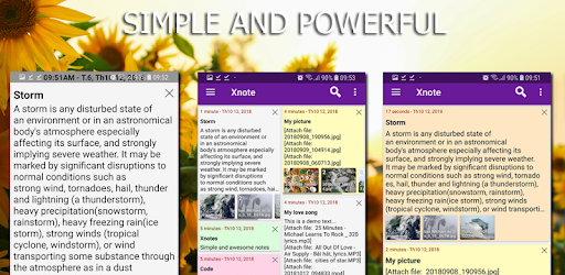 Xnotes - notes, notepad, sticky notes, notebook pc screenshot