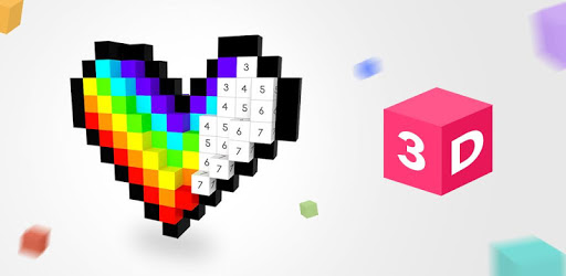 3D No.Draw – Color by Number pc screenshot