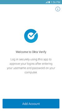 Okta Verify APK screenshot 1