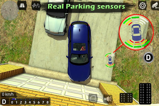 Manual gearbox Car parking APK screenshot 1