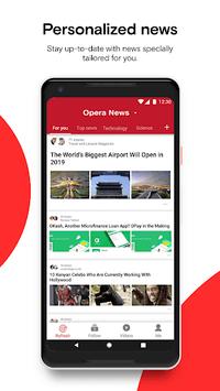 Opera News - Trending news and videos APK screenshot 1