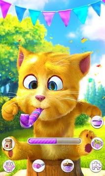 Talking Ginger 2 APK screenshot 1