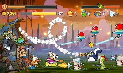 Swamp Attack APK screenshot 1