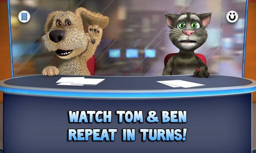 Talking Tom & Ben News APK screenshot 1