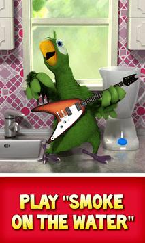 Talking Pierre the Parrot APK screenshot 1