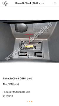 Where is my OBD2 port? Find it APK screenshot 1