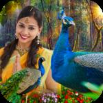 Peacock Photo Frame : Garnish your photos icon