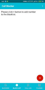 Call Blocker - Firewall APK screenshot 1
