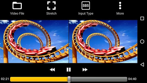 iPlay VR Player for SBS 3D Video APK screenshot 1