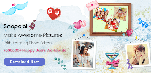 Photo Collage Maker Editor PicGrid Snappy Stickers pc screenshot