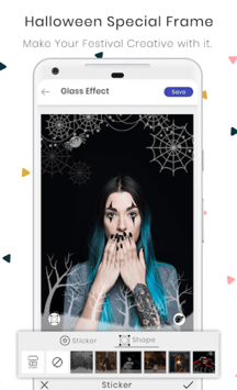 Photo Collage Maker Editor PicGrid Snappy Stickers APK screenshot 1