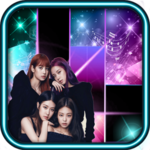 Black Pink Piano Tiles icon