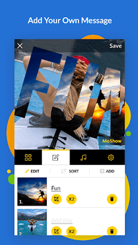 MoShow - Slideshow Movie Maker APK screenshot 1