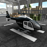 Police Helicopter Simulator for pc icon