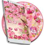 Pink Summer Flower Theme FOR PC