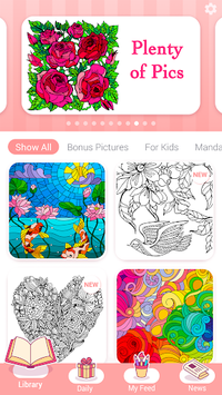 Happy Color – Color by Number APK screenshot 1