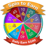 Spin to Win : Daily Earn 100$ FOR PC