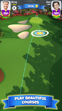 Golf Clash APK screenshot 1