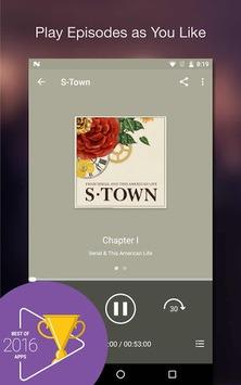 Podcast Player APK screenshot 1