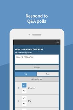 Poll Everywhere APK screenshot 1