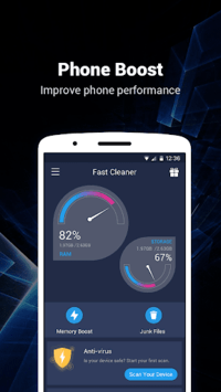 Fast Cleaner - Speed Booster & Cleaner APK screenshot 1